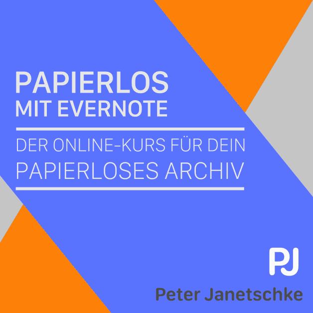 Papierlos mit Evernote