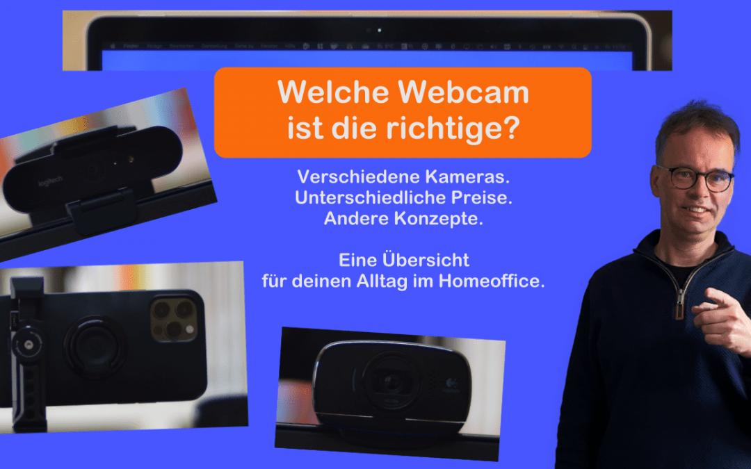 Die richtige Webcam im Homeoffice